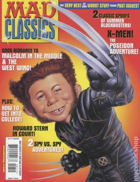 Mad Classics #7 comic books - cover scans photos Mad Classics #7 comic books - covers, picture gallery