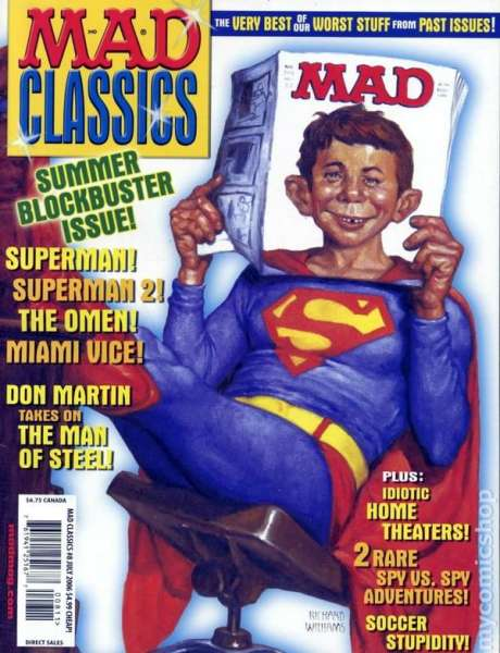 Mad Classics #8 comic books - cover scans photos Mad Classics #8 comic books - covers, picture gallery