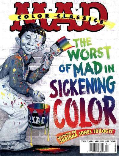 Mad Color Classics comic books