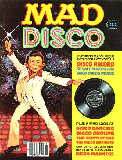 Mad Disco #1 comic books - cover scans photos Mad Disco #1 comic books - covers, picture gallery