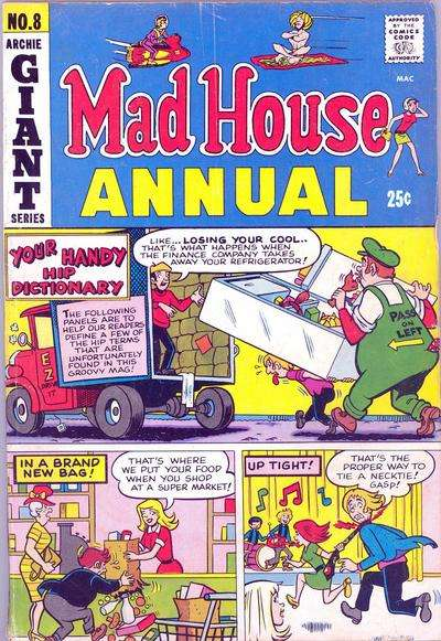 Mad House #8 comic books for sale