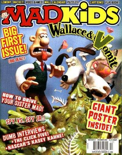 Mad Kids comic books