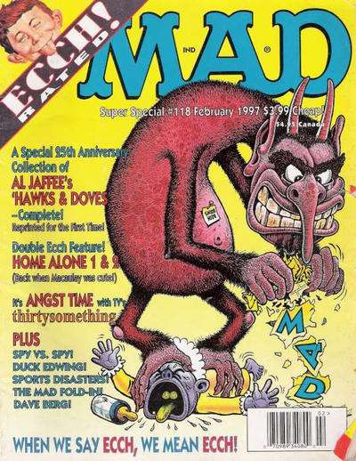Mad Special #118 Comic Books - Covers, Scans, Photos  in Mad Special Comic Books - Covers, Scans, Gallery