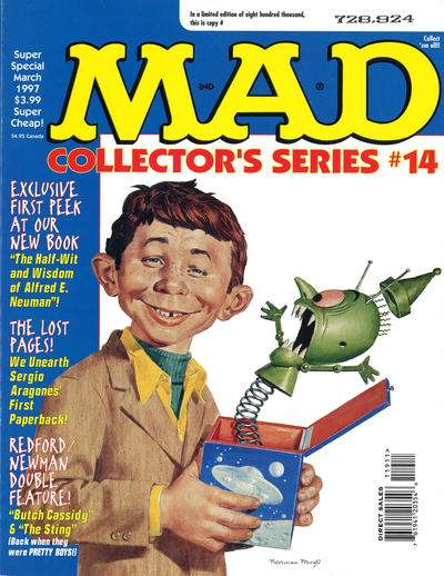 Mad Special #119 comic books - cover scans photos Mad Special #119 comic books - covers, picture gallery