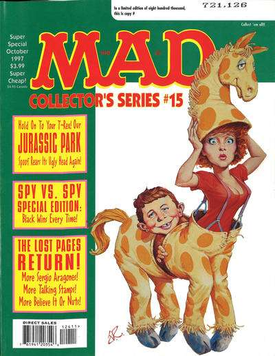 Mad Special #124 comic books - cover scans photos Mad Special #124 comic books - covers, picture gallery