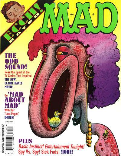 Mad Special #135 comic books - cover scans photos Mad Special #135 comic books - covers, picture gallery