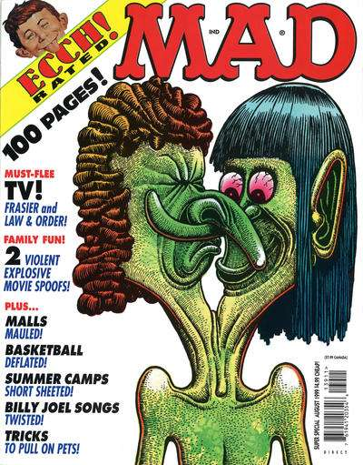 Mad Special #139 comic books - cover scans photos Mad Special #139 comic books - covers, picture gallery