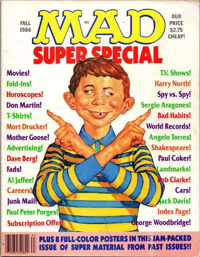 Mad Special #56 Comic Books - Covers, Scans, Photos  in Mad Special Comic Books - Covers, Scans, Gallery