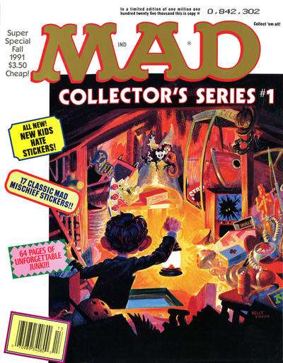 Mad Special #76 comic books - cover scans photos Mad Special #76 comic books - covers, picture gallery