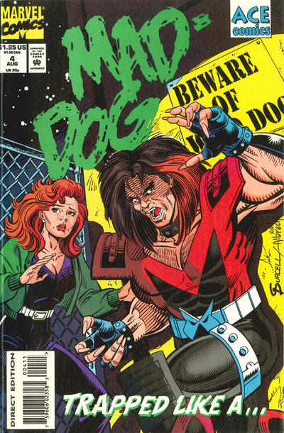 Mad-Dog #4 comic books for sale