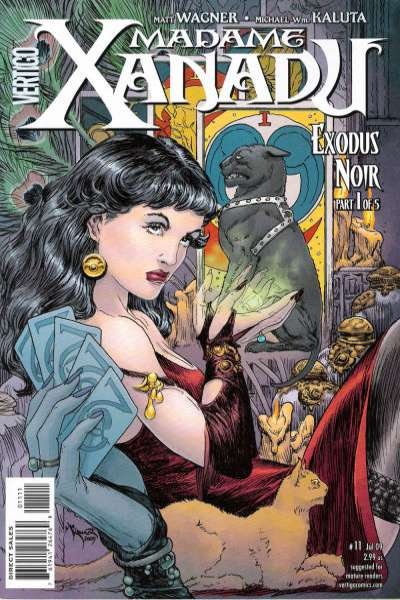 Madame Xanadu #11 Comic Books - Covers, Scans, Photos  in Madame Xanadu Comic Books - Covers, Scans, Gallery
