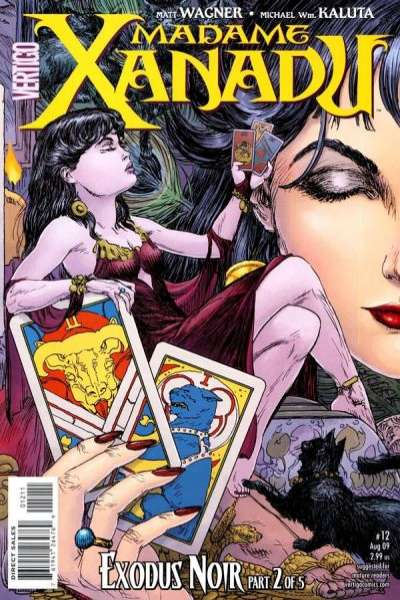 Madame Xanadu #12 comic books - cover scans photos Madame Xanadu #12 comic books - covers, picture gallery