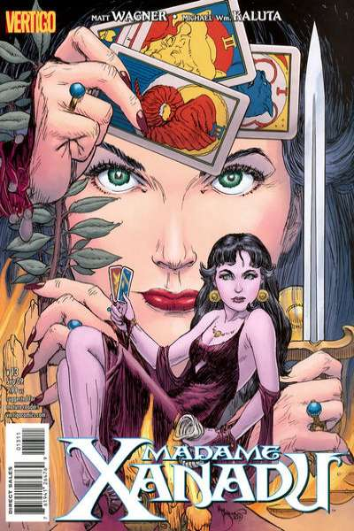 Madame Xanadu #13 Comic Books - Covers, Scans, Photos  in Madame Xanadu Comic Books - Covers, Scans, Gallery