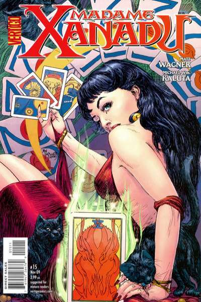 Madame Xanadu #15 Comic Books - Covers, Scans, Photos  in Madame Xanadu Comic Books - Covers, Scans, Gallery