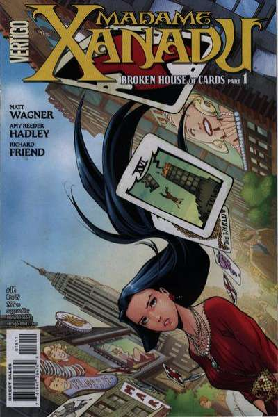 Madame Xanadu #16 comic books - cover scans photos Madame Xanadu #16 comic books - covers, picture gallery