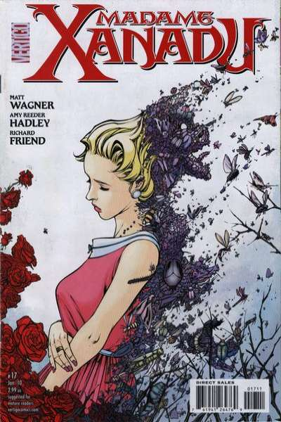 Madame Xanadu #17 comic books - cover scans photos Madame Xanadu #17 comic books - covers, picture gallery