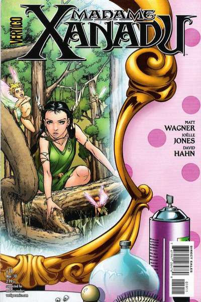 Madame Xanadu #19 Comic Books - Covers, Scans, Photos  in Madame Xanadu Comic Books - Covers, Scans, Gallery