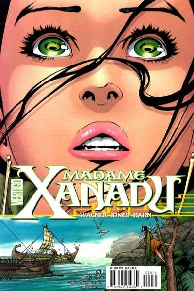 Madame Xanadu #20 comic books - cover scans photos Madame Xanadu #20 comic books - covers, picture gallery