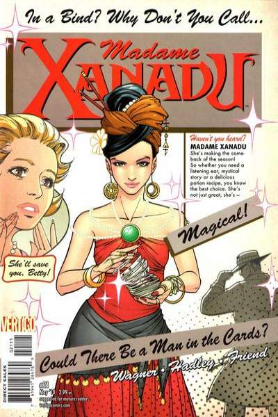 Madame Xanadu #21 comic books - cover scans photos Madame Xanadu #21 comic books - covers, picture gallery
