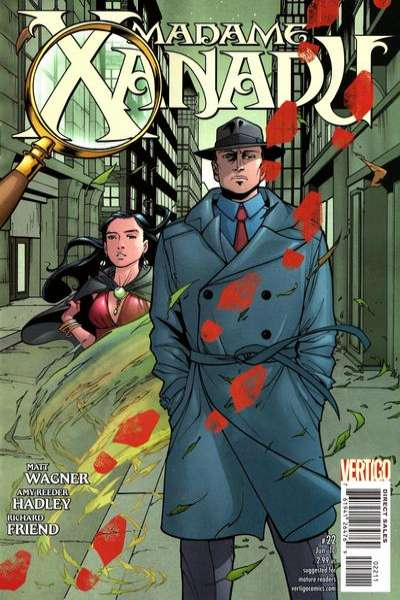 Madame Xanadu #22 comic books for sale