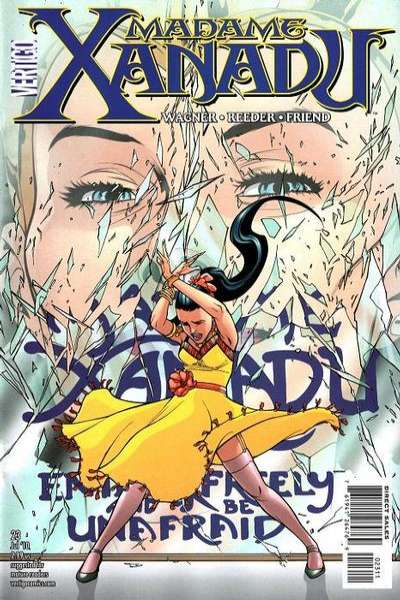 Madame Xanadu #23 comic books - cover scans photos Madame Xanadu #23 comic books - covers, picture gallery