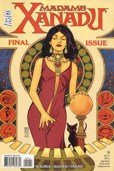 Madame Xanadu #29 Comic Books - Covers, Scans, Photos  in Madame Xanadu Comic Books - Covers, Scans, Gallery