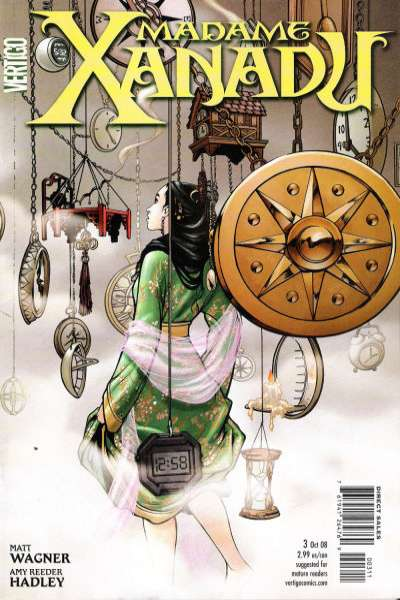 Madame Xanadu #3 comic books - cover scans photos Madame Xanadu #3 comic books - covers, picture gallery