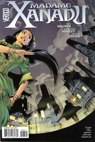 Madame Xanadu #7 Comic Books - Covers, Scans, Photos  in Madame Xanadu Comic Books - Covers, Scans, Gallery