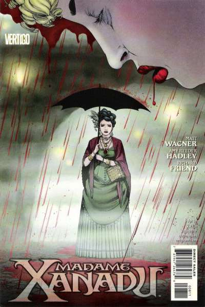 Madame Xanadu #8 comic books - cover scans photos Madame Xanadu #8 comic books - covers, picture gallery