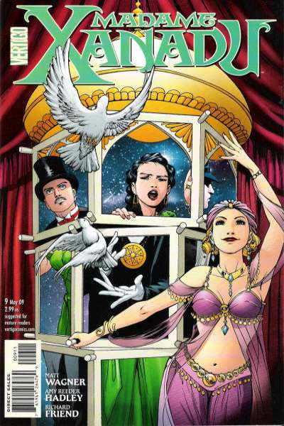 Madame Xanadu #9 comic books - cover scans photos Madame Xanadu #9 comic books - covers, picture gallery
