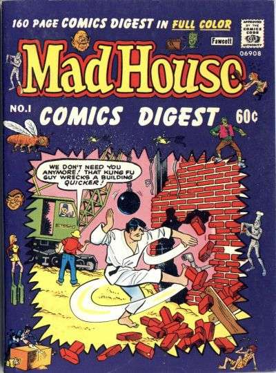Madhouse Comics Digest comic books
