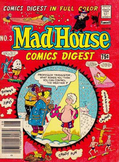 Madhouse Comics Digest #3 Comic Books - Covers, Scans, Photos  in Madhouse Comics Digest Comic Books - Covers, Scans, Gallery