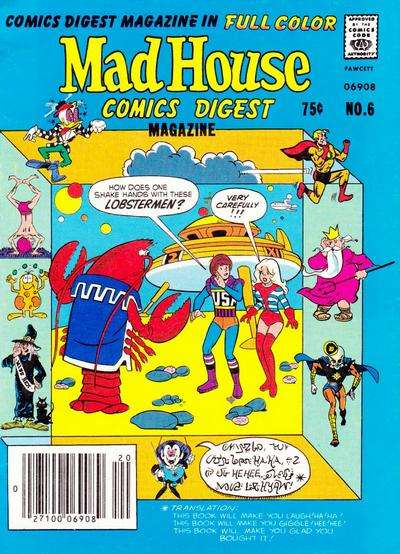 Madhouse Comics Digest #6 comic books for sale