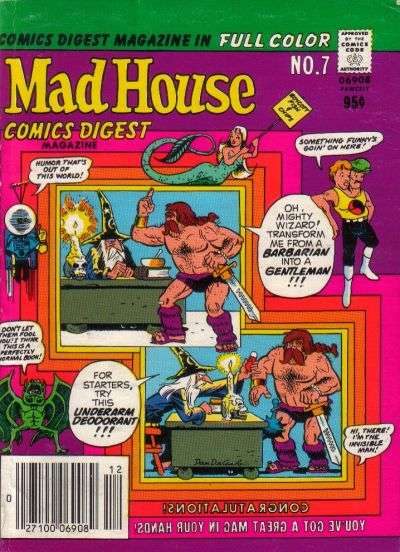 Madhouse Comics Digest #7 Comic Books - Covers, Scans, Photos  in Madhouse Comics Digest Comic Books - Covers, Scans, Gallery