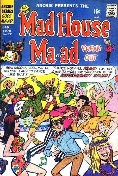 Madhouse Ma-ad #72 Comic Books - Covers, Scans, Photos  in Madhouse Ma-ad Comic Books - Covers, Scans, Gallery