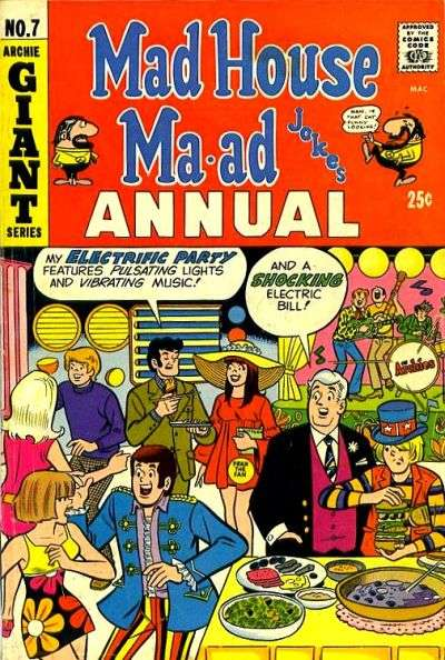 Madhouse Ma-ad #7 comic books for sale