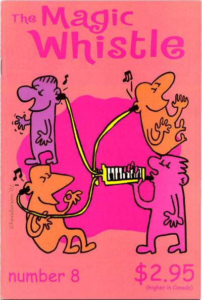 Magic Whistle #8 comic books for sale