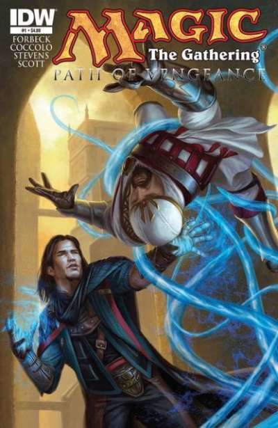 Magic the Gathering: Path of Vengeance Comic Books. Magic the Gathering: Path of Vengeance Comics.