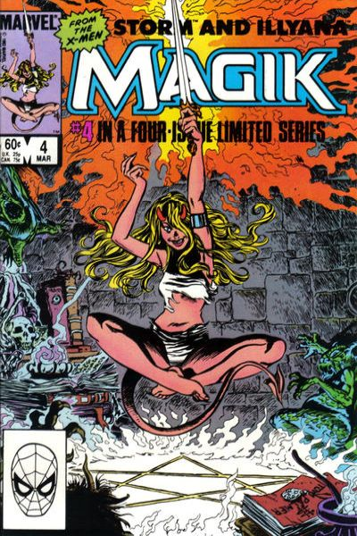 Magik #4 comic books for sale
