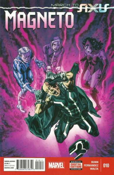 Magneto #10 Comic Books - Covers, Scans, Photos  in Magneto Comic Books - Covers, Scans, Gallery