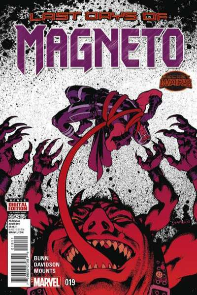 Magneto #19 Comic Books - Covers, Scans, Photos  in Magneto Comic Books - Covers, Scans, Gallery
