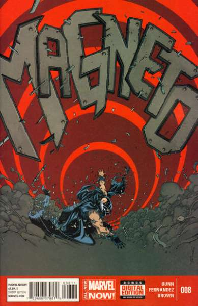 Magneto #8 Comic Books - Covers, Scans, Photos  in Magneto Comic Books - Covers, Scans, Gallery