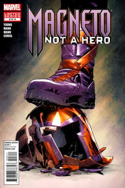 Magneto: Not a Hero #3 comic books - cover scans photos Magneto: Not a Hero #3 comic books - covers, picture gallery