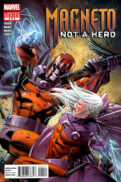 Magneto: Not a Hero #4 Comic Books - Covers, Scans, Photos  in Magneto: Not a Hero Comic Books - Covers, Scans, Gallery
