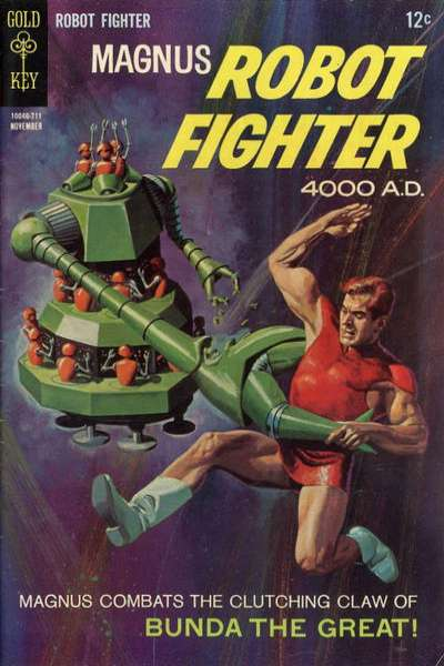 Magnus Robot Fighter #20 Comic Books - Covers, Scans, Photos  in Magnus Robot Fighter Comic Books - Covers, Scans, Gallery