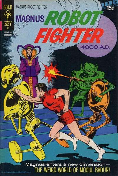 Magnus Robot Fighter #30 comic books for sale