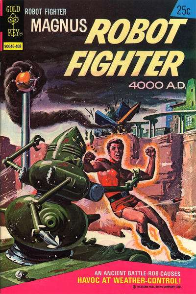 Magnus Robot Fighter #36 comic books for sale