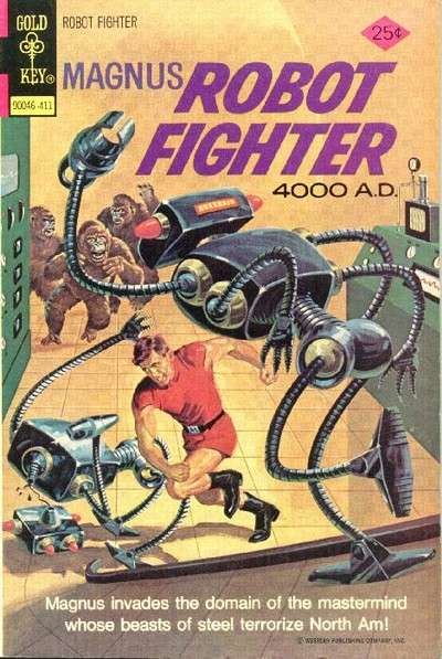 Magnus Robot Fighter #37 comic books - cover scans photos Magnus Robot Fighter #37 comic books - covers, picture gallery