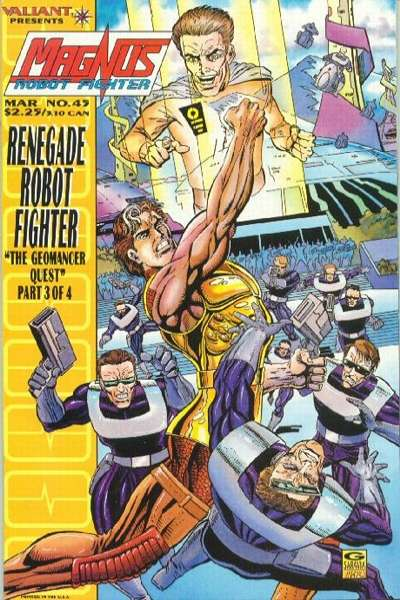 Magnus Robot Fighter #45 comic books for sale