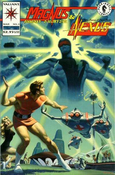 Magnus Robot Fighter/Nexus #1 Comic Books - Covers, Scans, Photos  in Magnus Robot Fighter/Nexus Comic Books - Covers, Scans, Gallery
